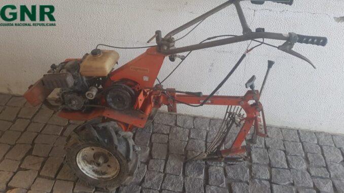 Motocultivador furtado