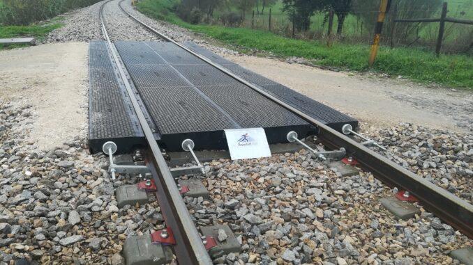 Linha férrea no Crato