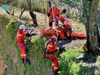 Exercício de resgate em Vila Viçosa