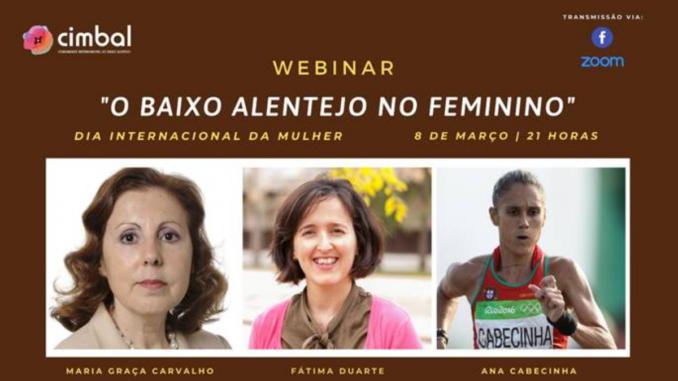 Webinar sobre mulheres