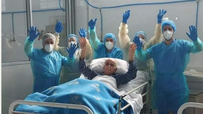 Ultimo doente com Covid