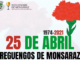 25 de abril em reguengos de monsaraz