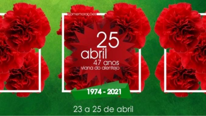 25 de abril em Viana do Alentejo