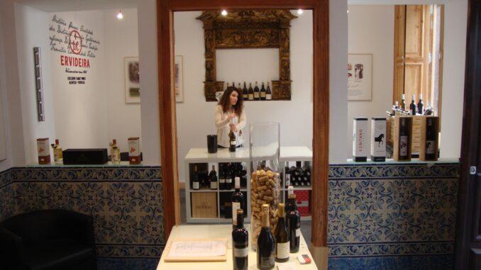 Wine shop ervideira