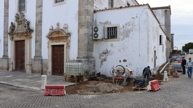 Obras em Elvas