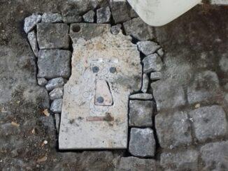 Escultura em Évora