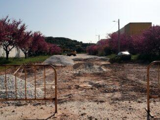 Obras na zona industrial de Vila Viçosa