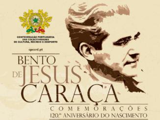 Homenagem a Bento de Jesus Caraça