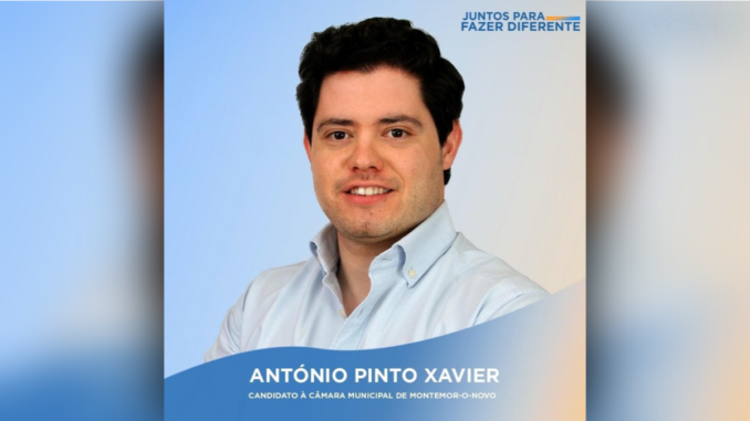 Candidato do CDS a Montemor-o-Novo