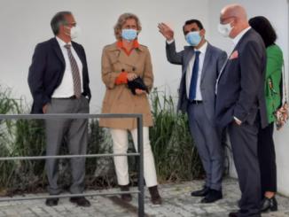 Ministra da Coesão em Castro Verde