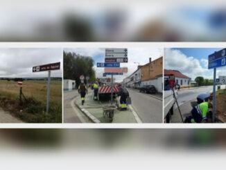 sinalética em Viana do Alentejo