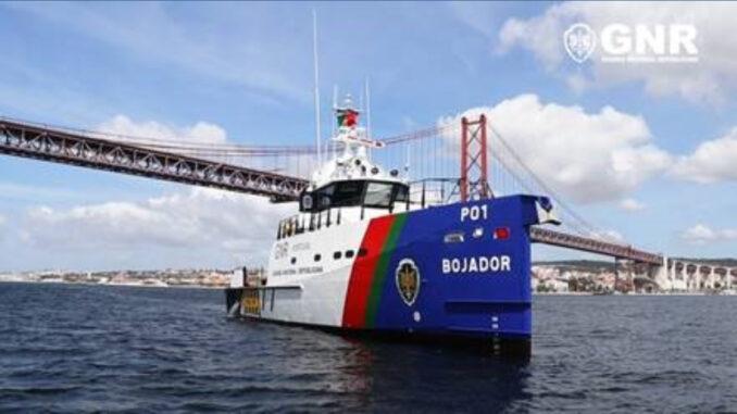 Embarcação da GNR