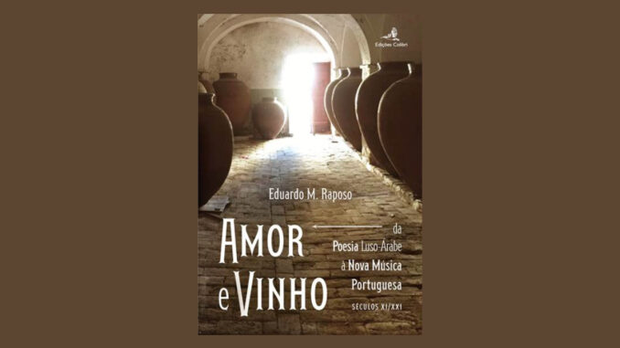 Livro amor e vinho