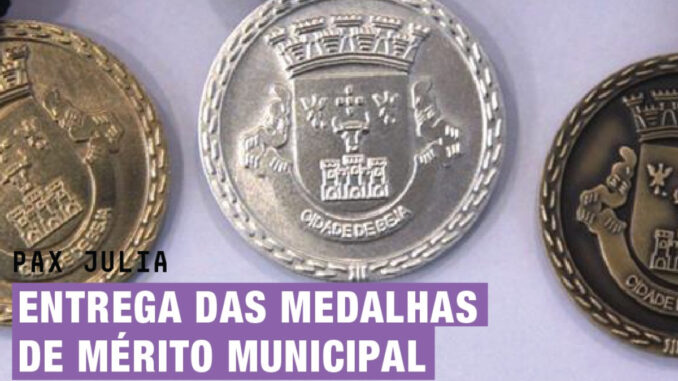Medalhas Beja