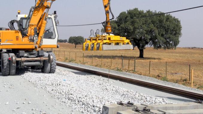 Obra ferroviária
