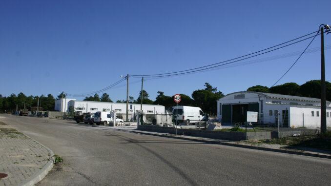 Zona industrial de Alcácer do Sal