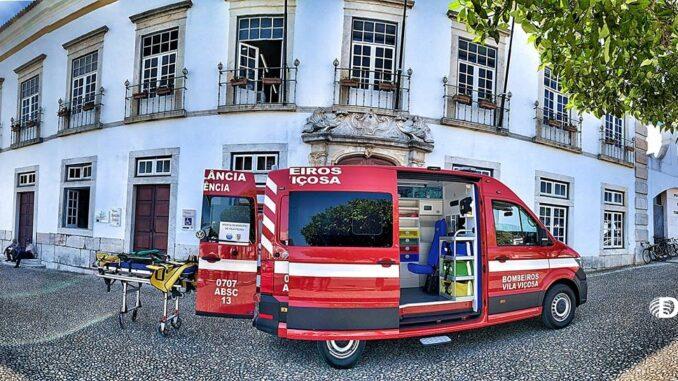 ambulância Vila Viçosa
