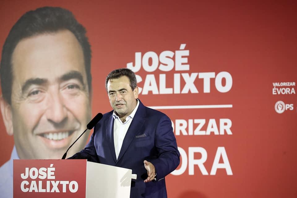 José Calixto candidato a Évora