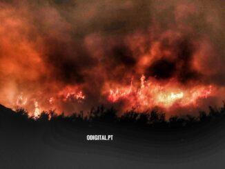 Incendio em Vila Viçosa