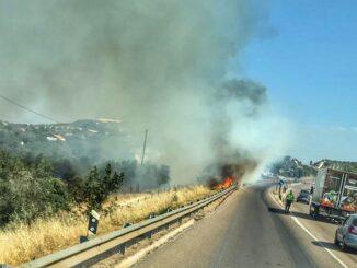 Incêndio em Vila Viçosa
