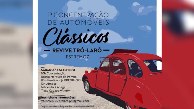 Automóveis em Estremoz