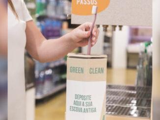 Reciclagem de escova