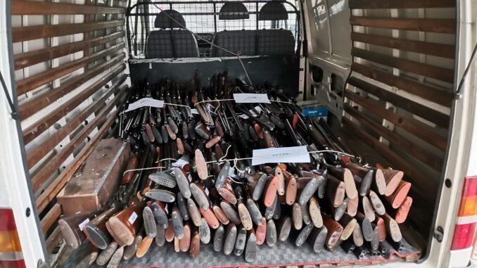 Armas para destruição