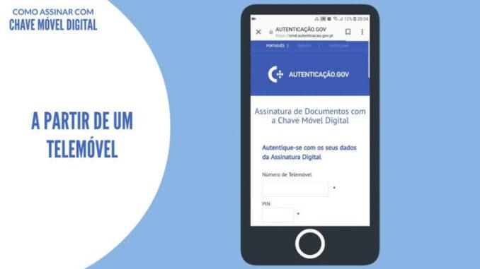 Chave móvel digital