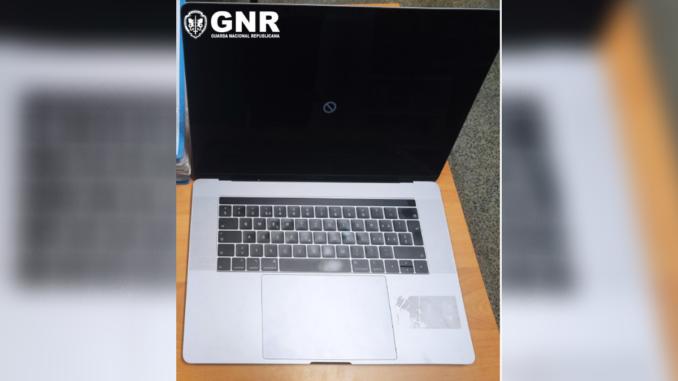 Computador furtado em Campo Maior