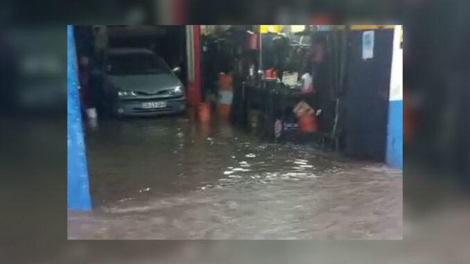 inundacao Viana do Alentejo oficina