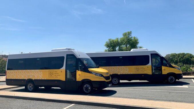 Novos autocarros alandroal