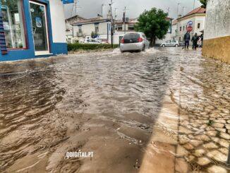 Inundações em Vila Viçosa