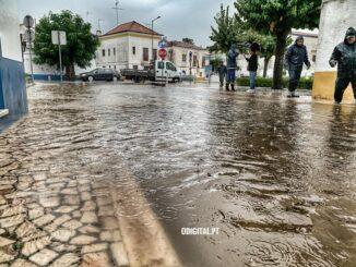 Inundações no Alentejo