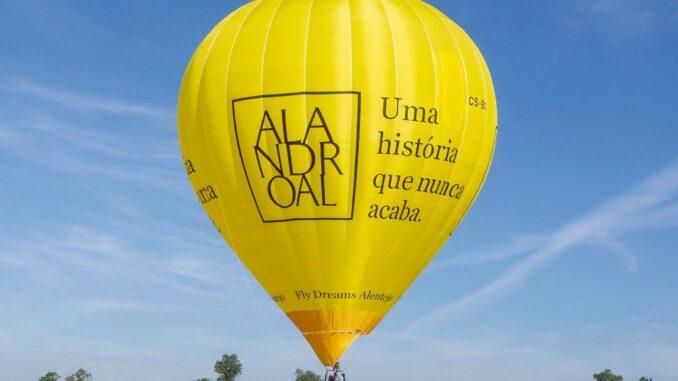 Balão de ar quente alandroal